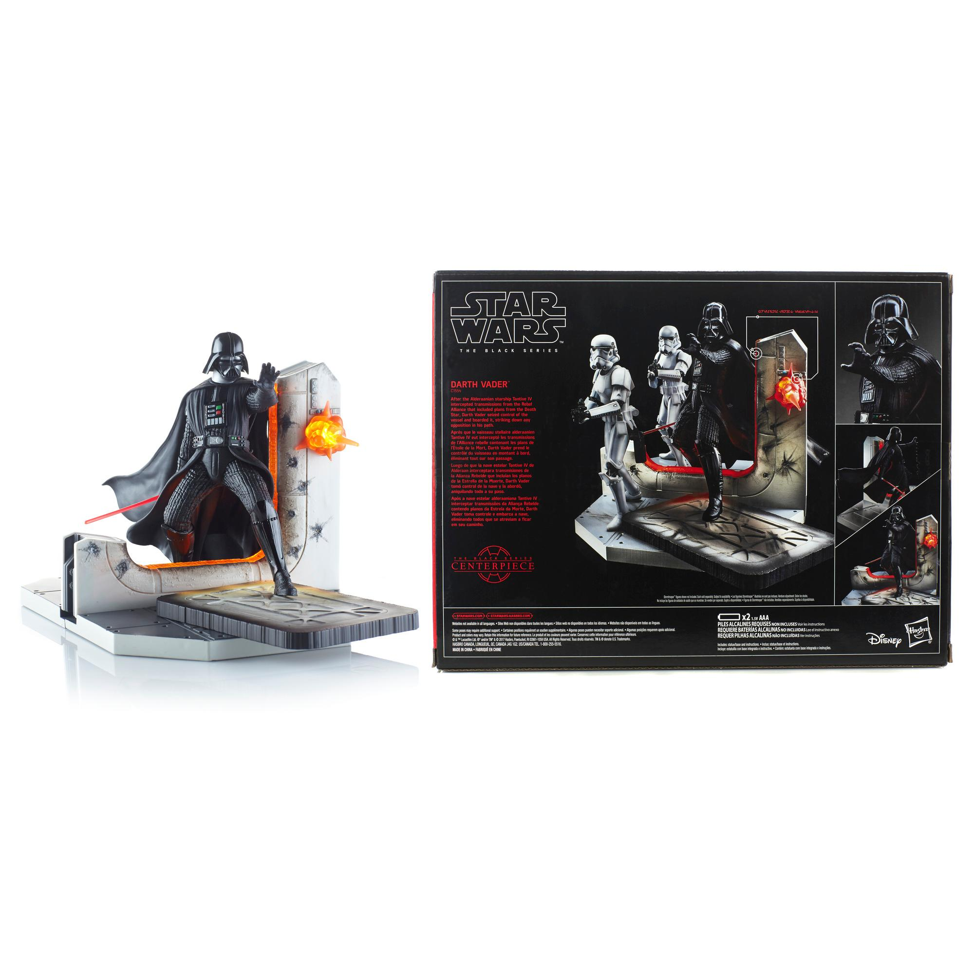 Star Wars The Black Series 6 Darth Vader Diorama Set