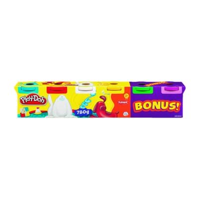 PLAY DOH - 4+2 BONUS