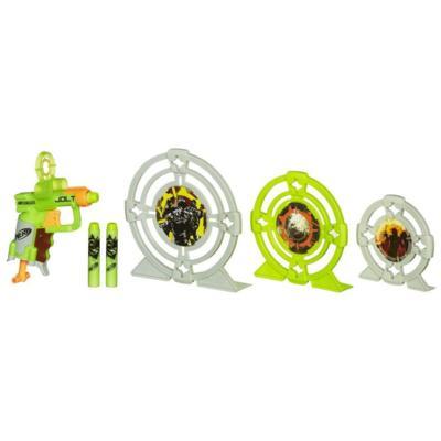 Nerf Zombie Strike Zielscheibe und Blaster Set