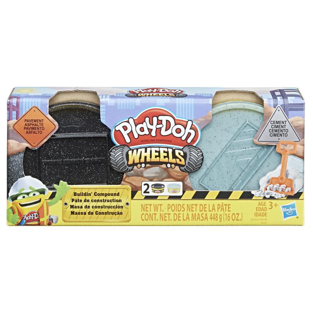 Play-Doh Wheels Baustellenknete Asphalt & Zement