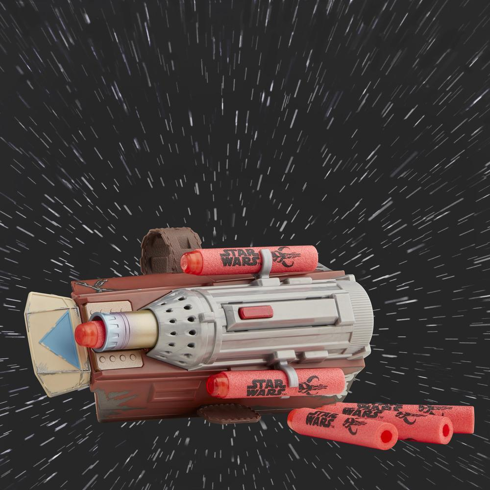 Star Wars NERF The Mandalorian Raketen Handschuh, NERF Dart-Abschuss Spielzeug für Kinder, Rollenspiel, ab 5 Jahren
