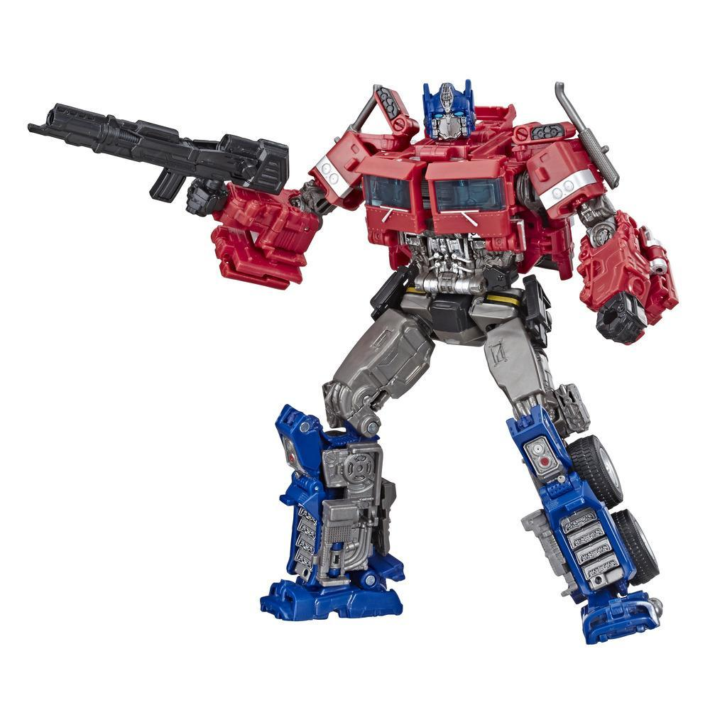 Transformers Toys Studio Series 38 Voyager Class Transformers: Bumblebee movie Optimus Prime Action Figure - Ages 8 and Up, 6.5-inch