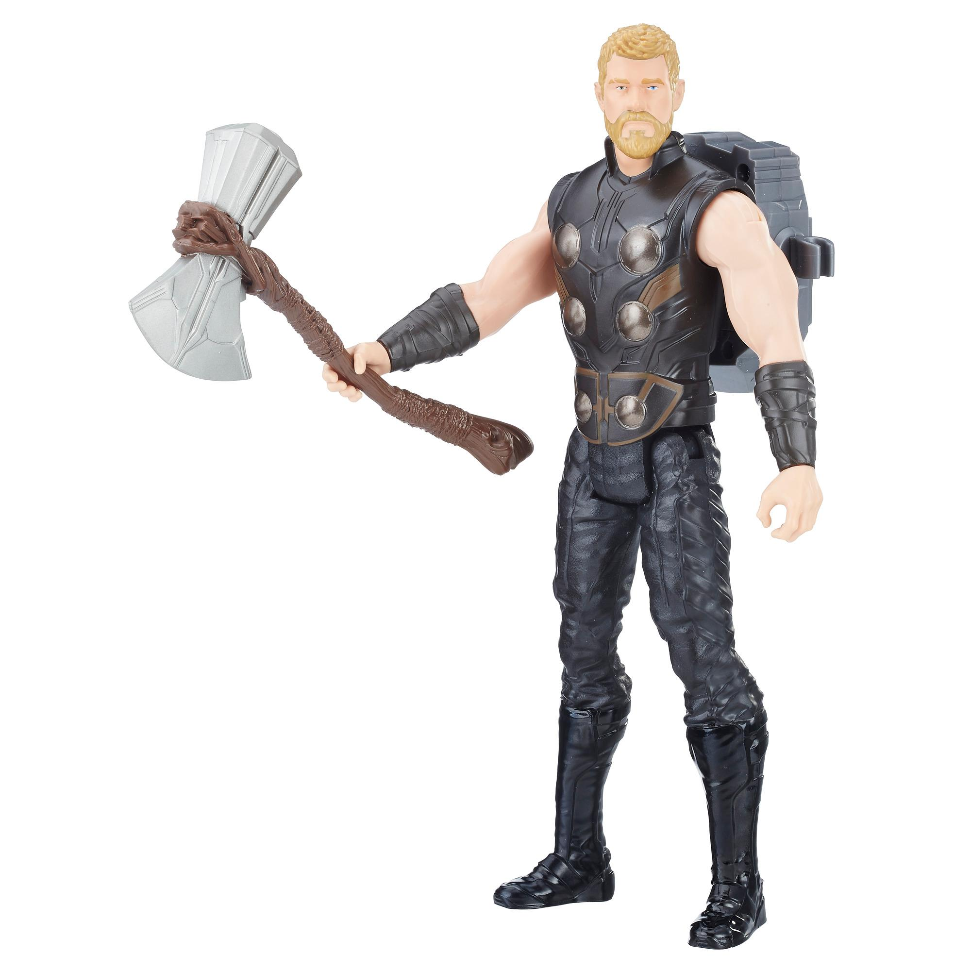 Avengers Titan Hero Power FX Thor mit Power FX Pack