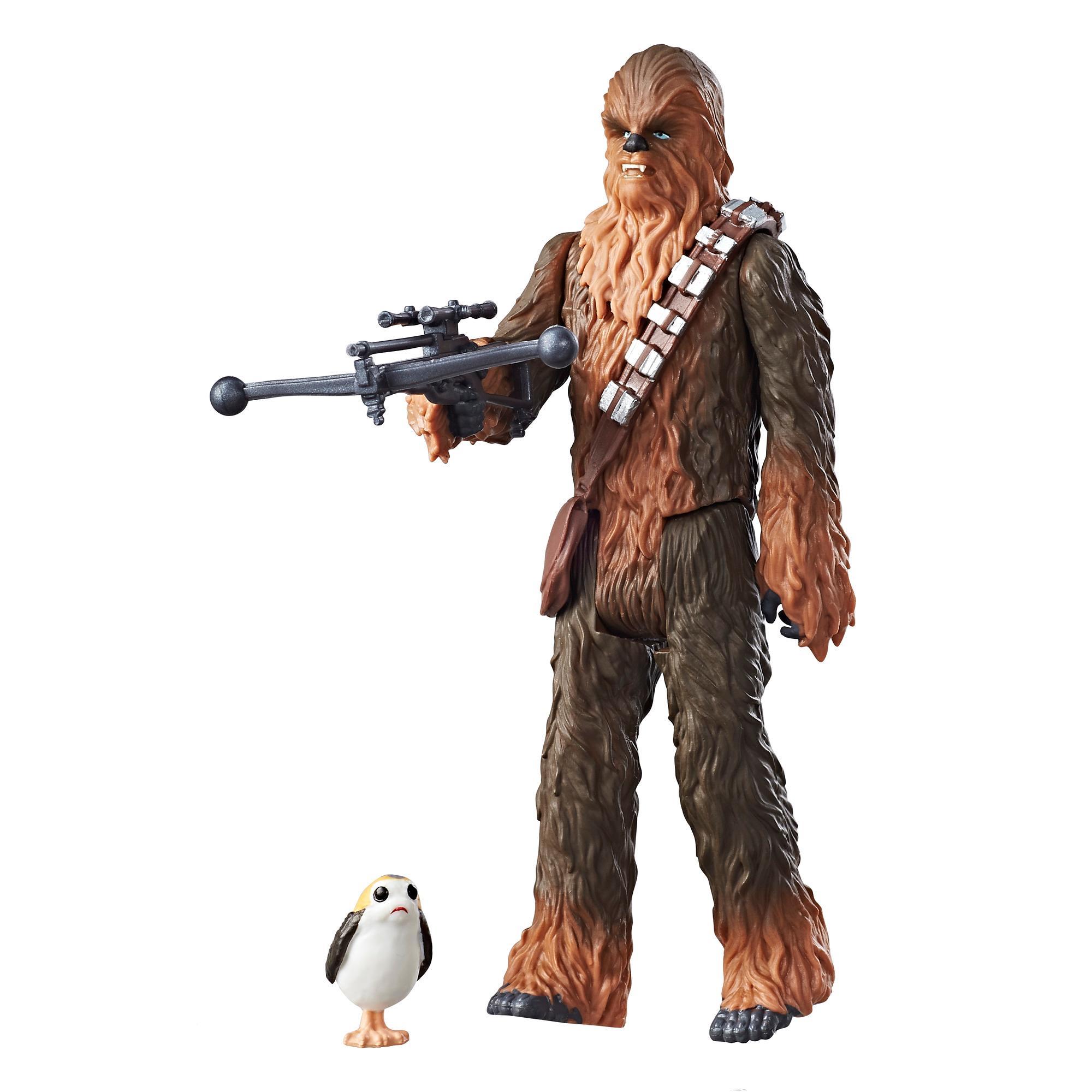 Star Wars Episode 8 3.75 FORCE LINK Figuren Chewbacca