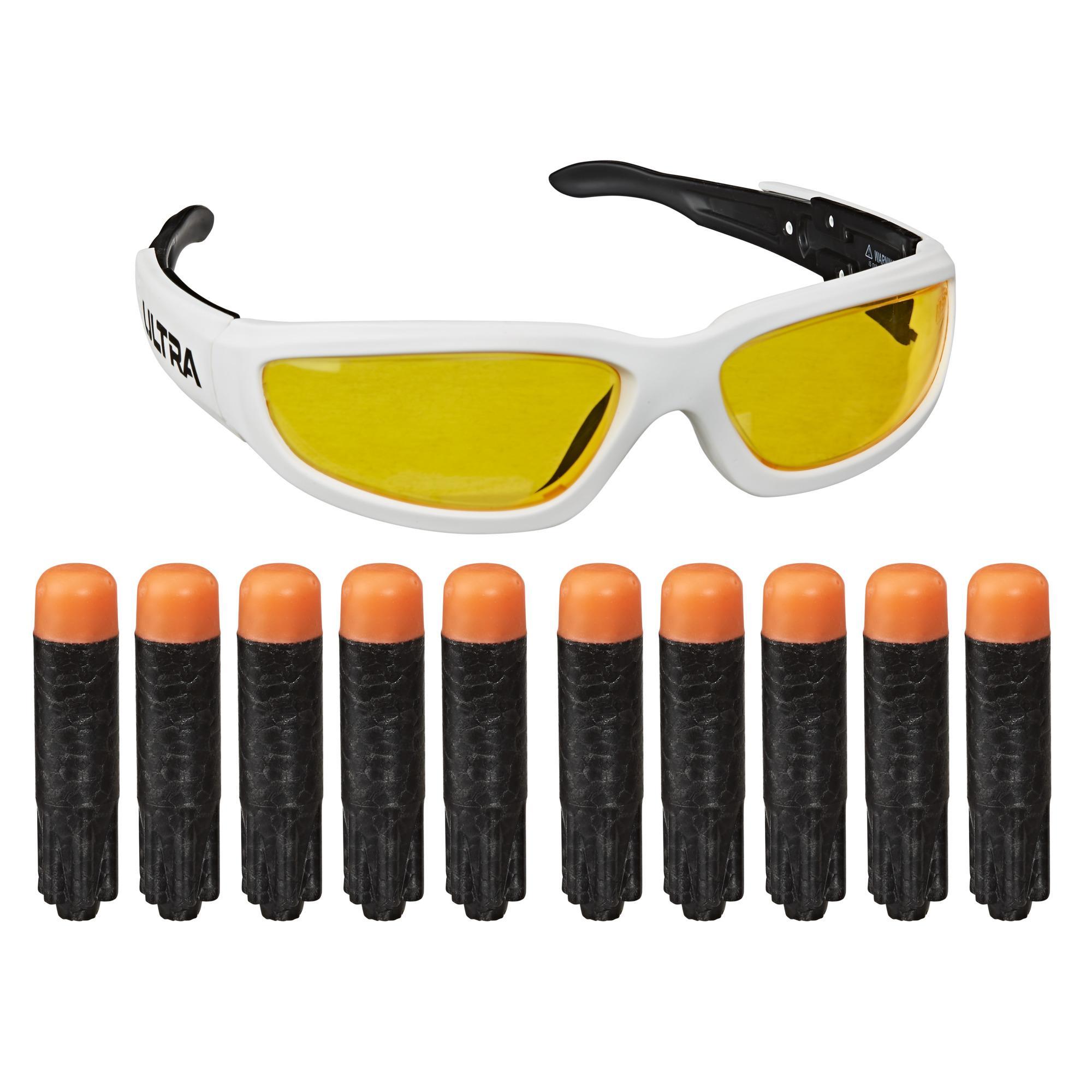 Nerf Ultra Vision Gear Brille und 10 Nerf Ultra Darts