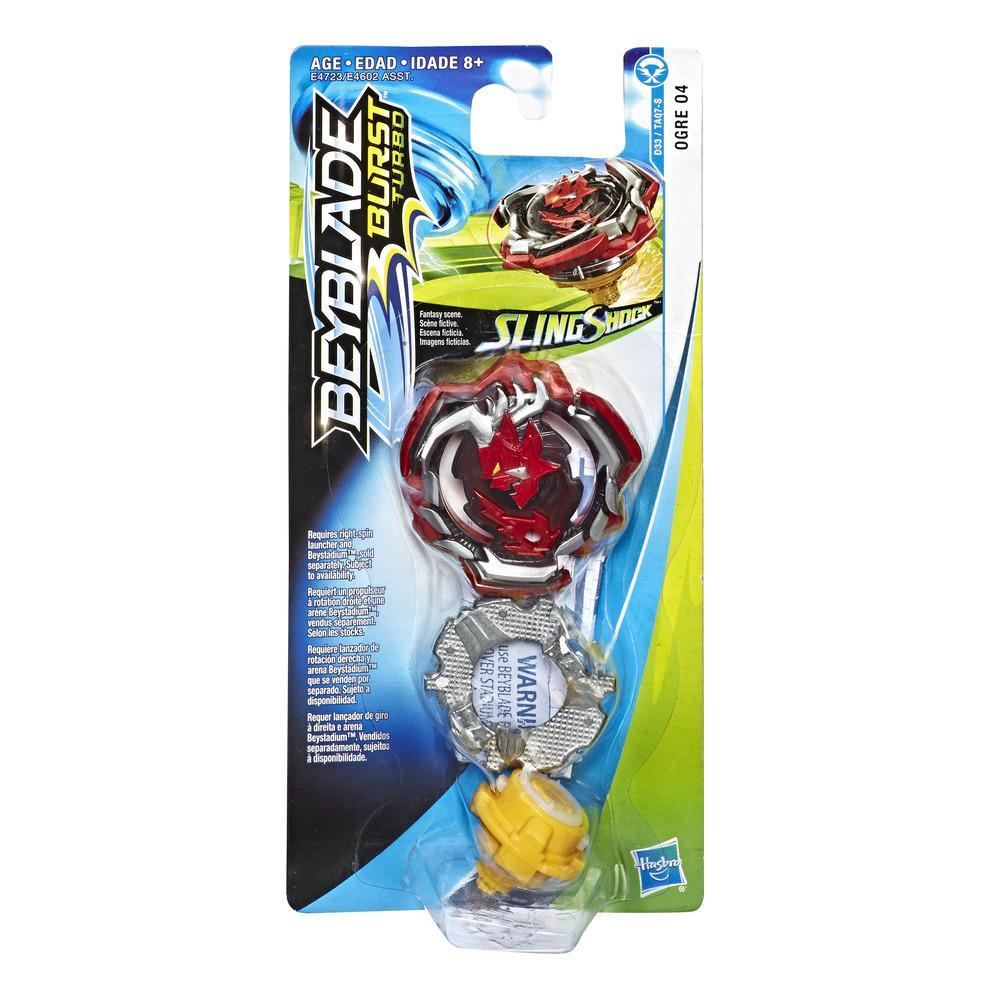 Beyblade Burst Turbo Slingshock Ogre O4 Single Battling Top