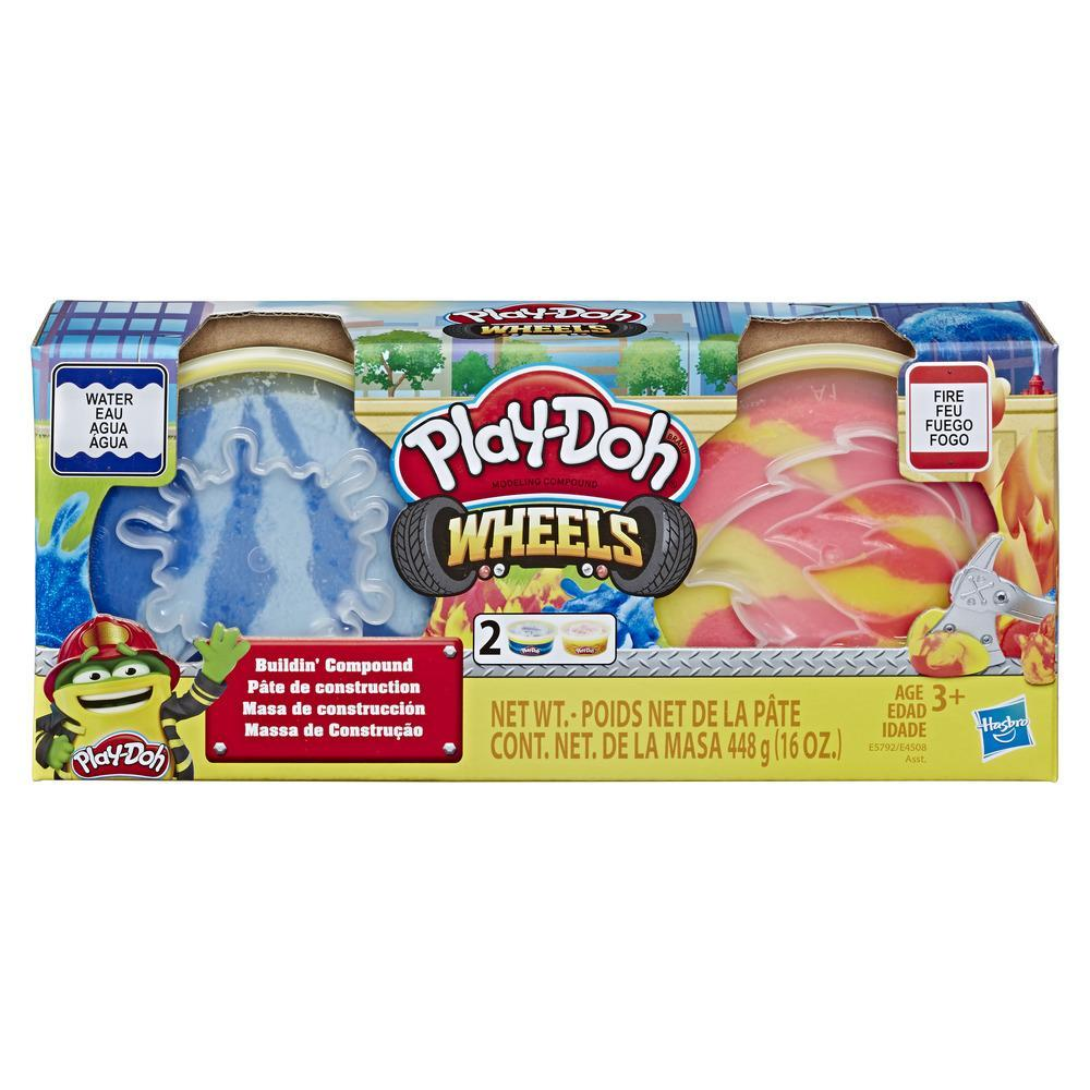 Play-Doh Wheels Fire and Water Buildin' Compound