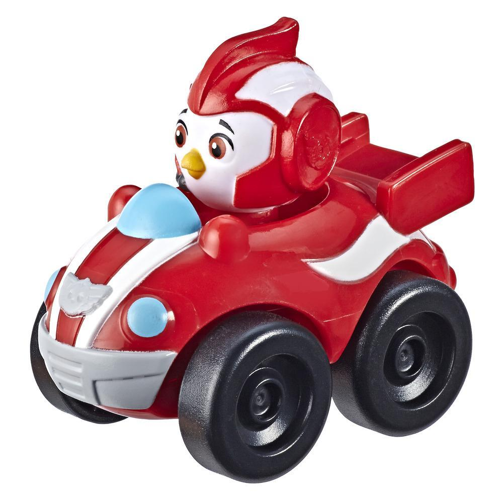 Top Wing Rod Mini Racer Figure with Attached Vehicle