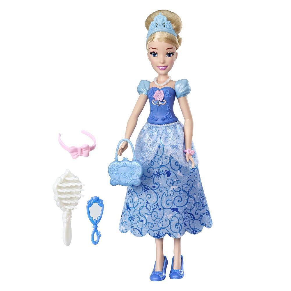 Disney Prinzessin Sei clever, sei kühn Cinderella Fashion-Puppe mit Zubehör