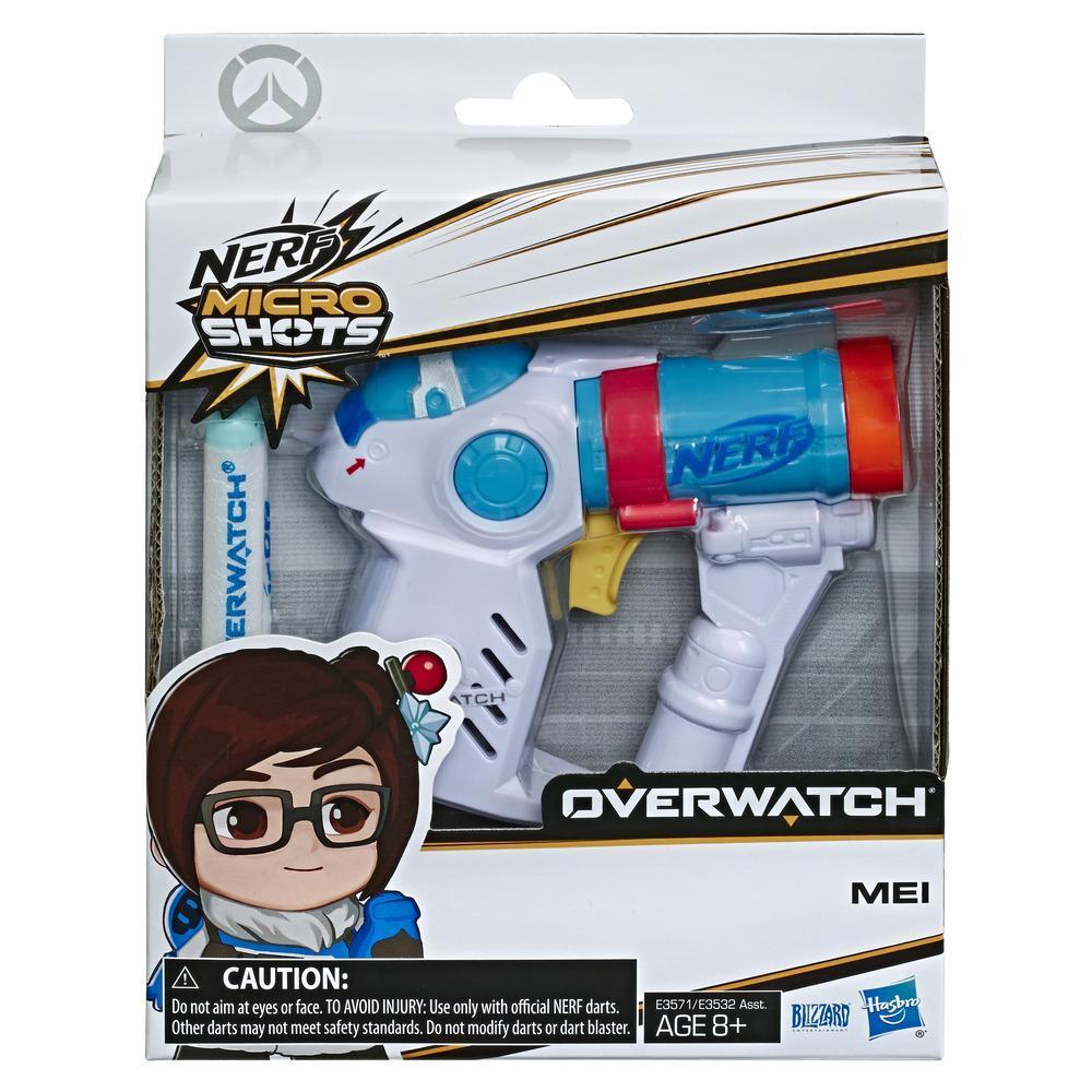 Nerf MicroShots Overwatch Mei Blaster