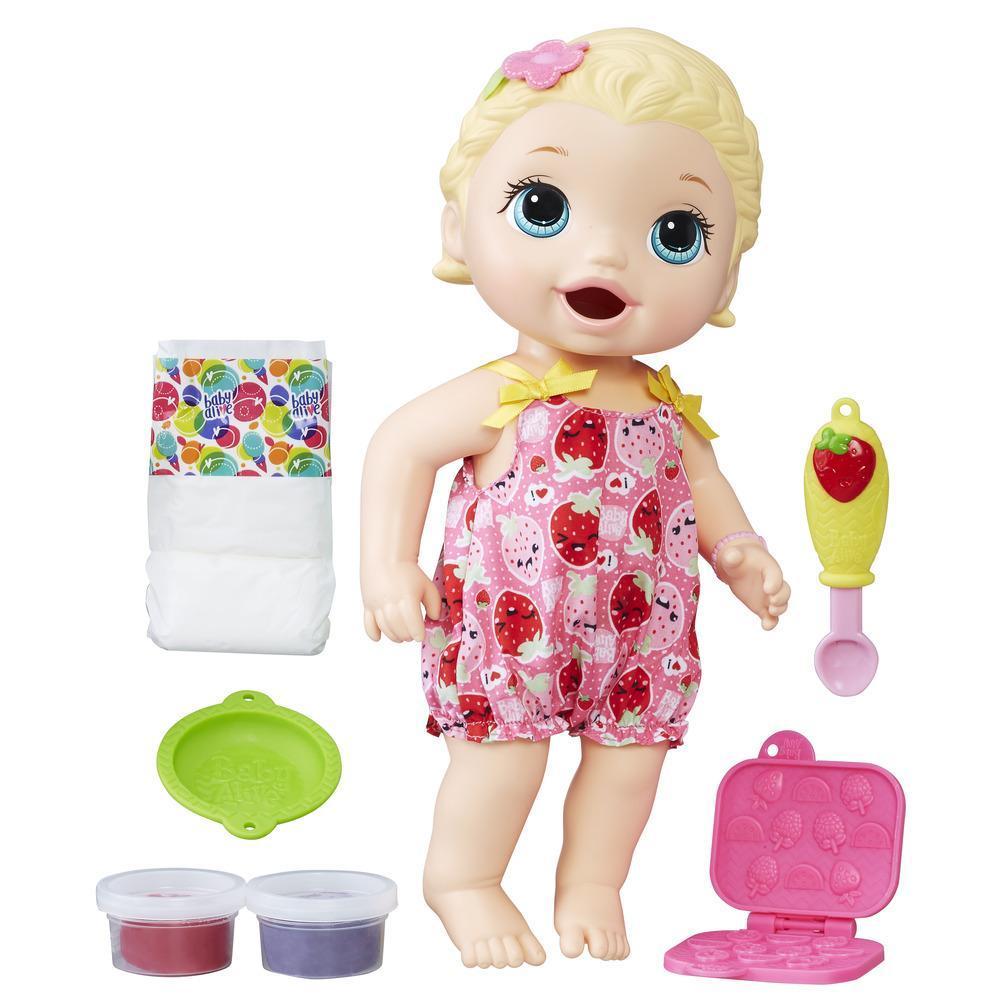 Baby Alive Fütterspaß Lily (blondhaarig)