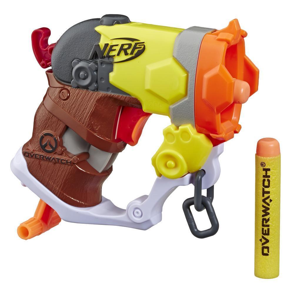 Nerf MicroShots Overwatch Roadhog Blaster