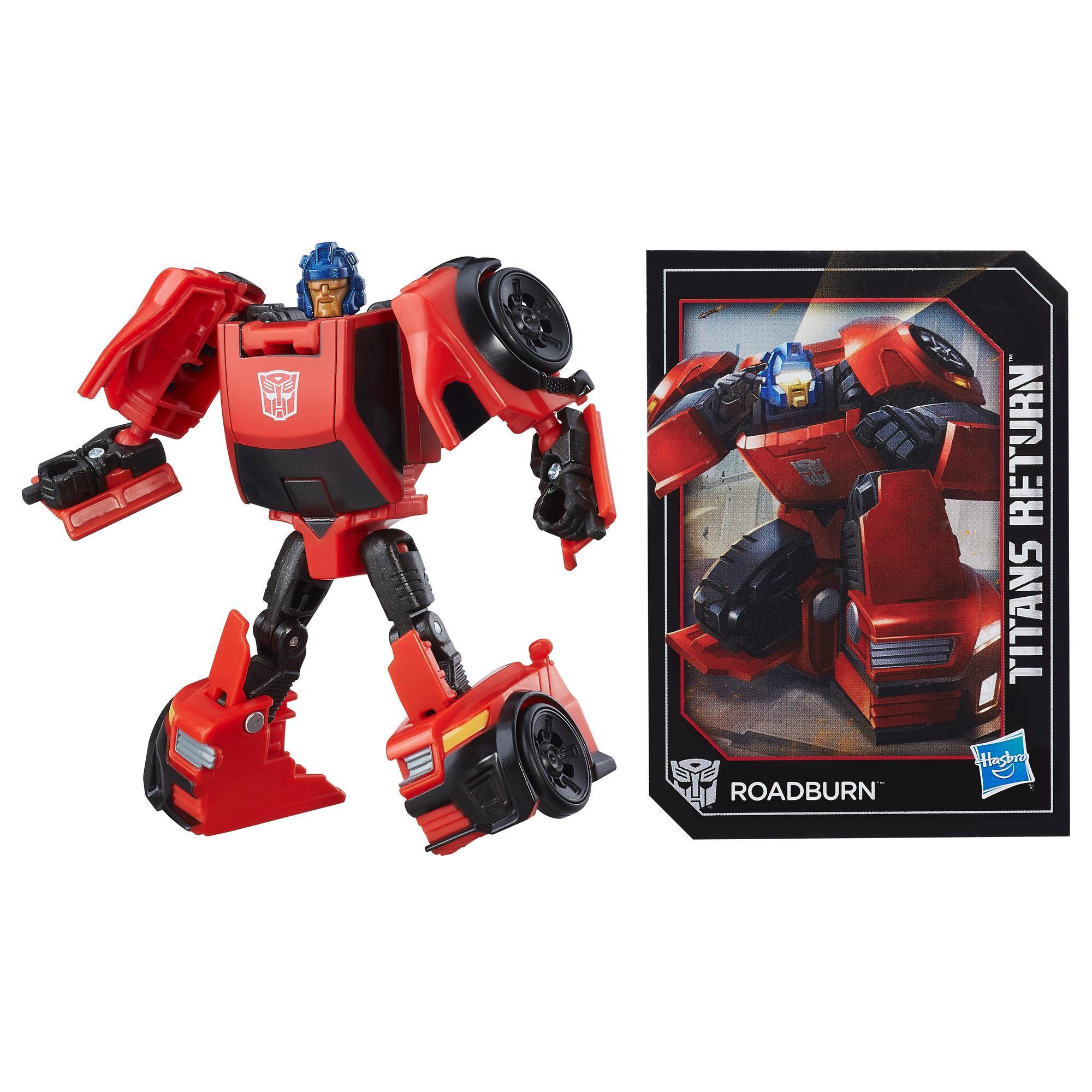 Transformers Generations Titans Return Legends Class Roadburn