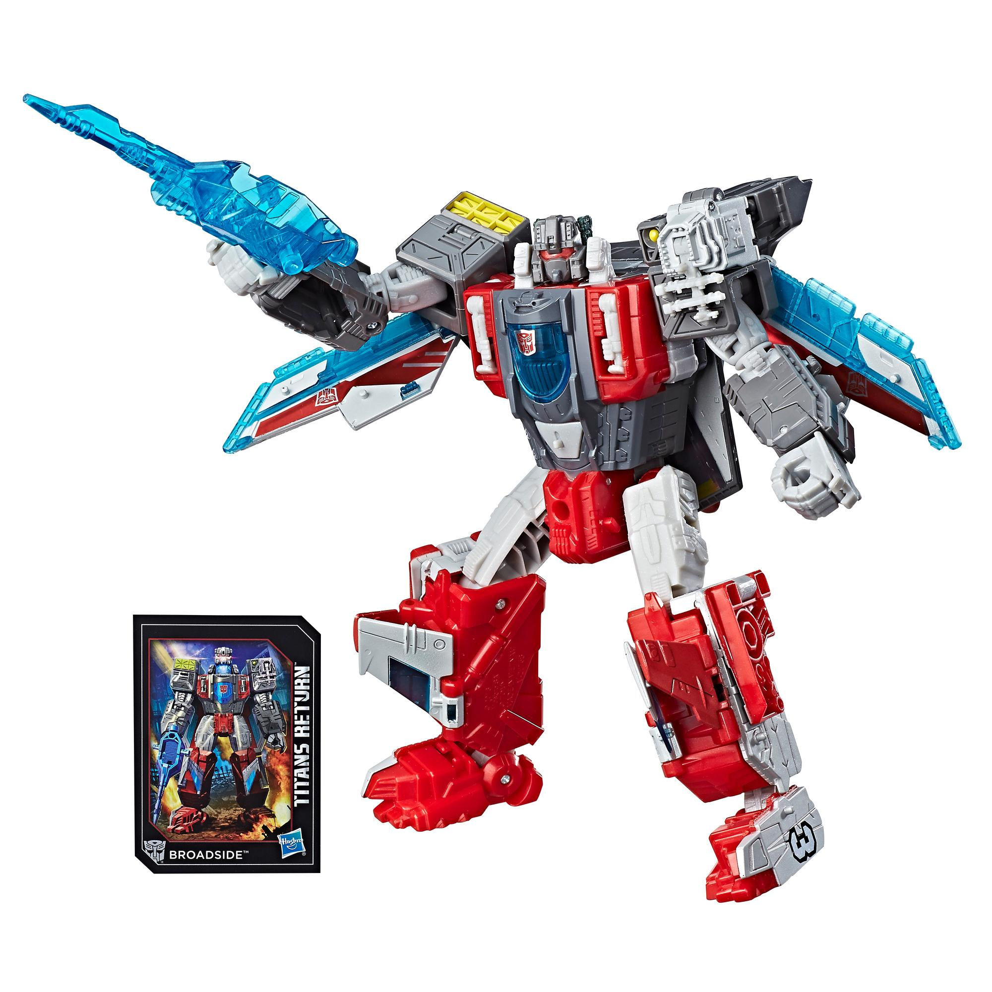 Transformers Generations Titans Return Voyager Class Broadside & Blunderbuss