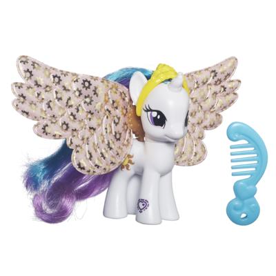 My Little Pony Ponys mit Flügeln und Anhängern Princess Celestia