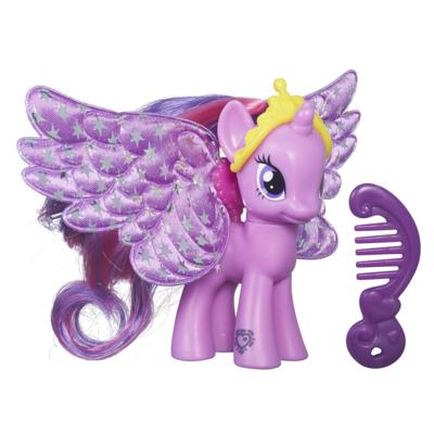 My Little Pony Ponys mit Flügeln und Anhängern Princess Twilight Sparkle