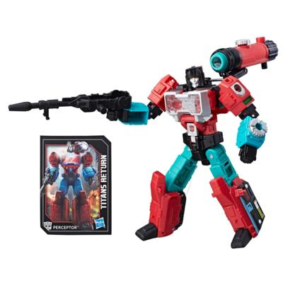 Transformers Generations Titans Return Deluxe Class Autobot Perceptor & Convex