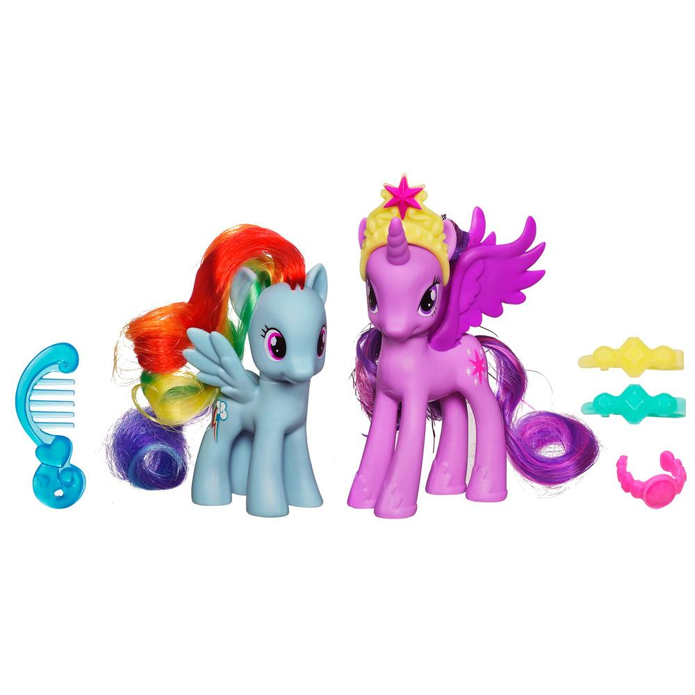 My Little Pony Prinzessinnen Sets Princess Twilight Sparkle & Rainbow Dash