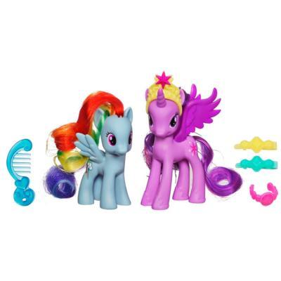 My Little Pony Prinzessinnen Sets Princess Twilight Sparkle & Rainbow Dash