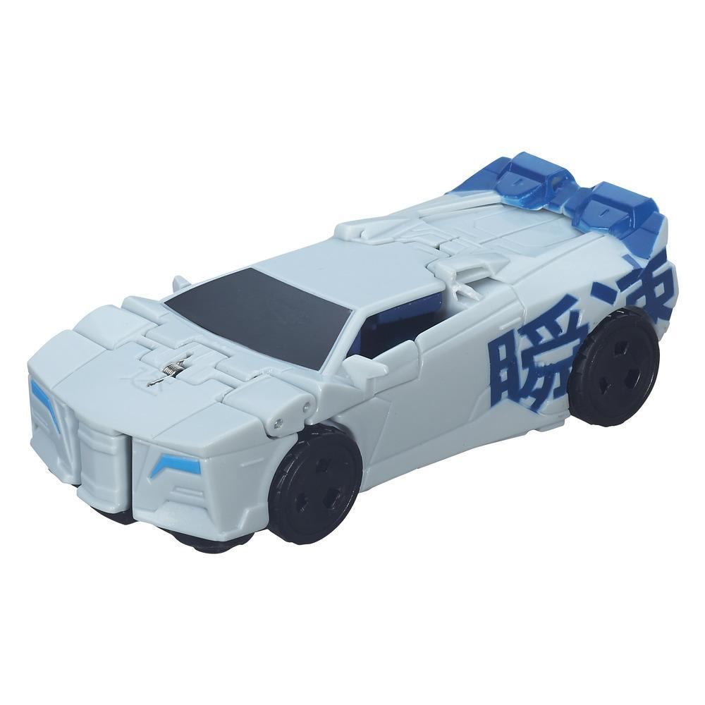 Transformers Robots in Disguise 1-Step Changer Blizzard Strike Sideswipe