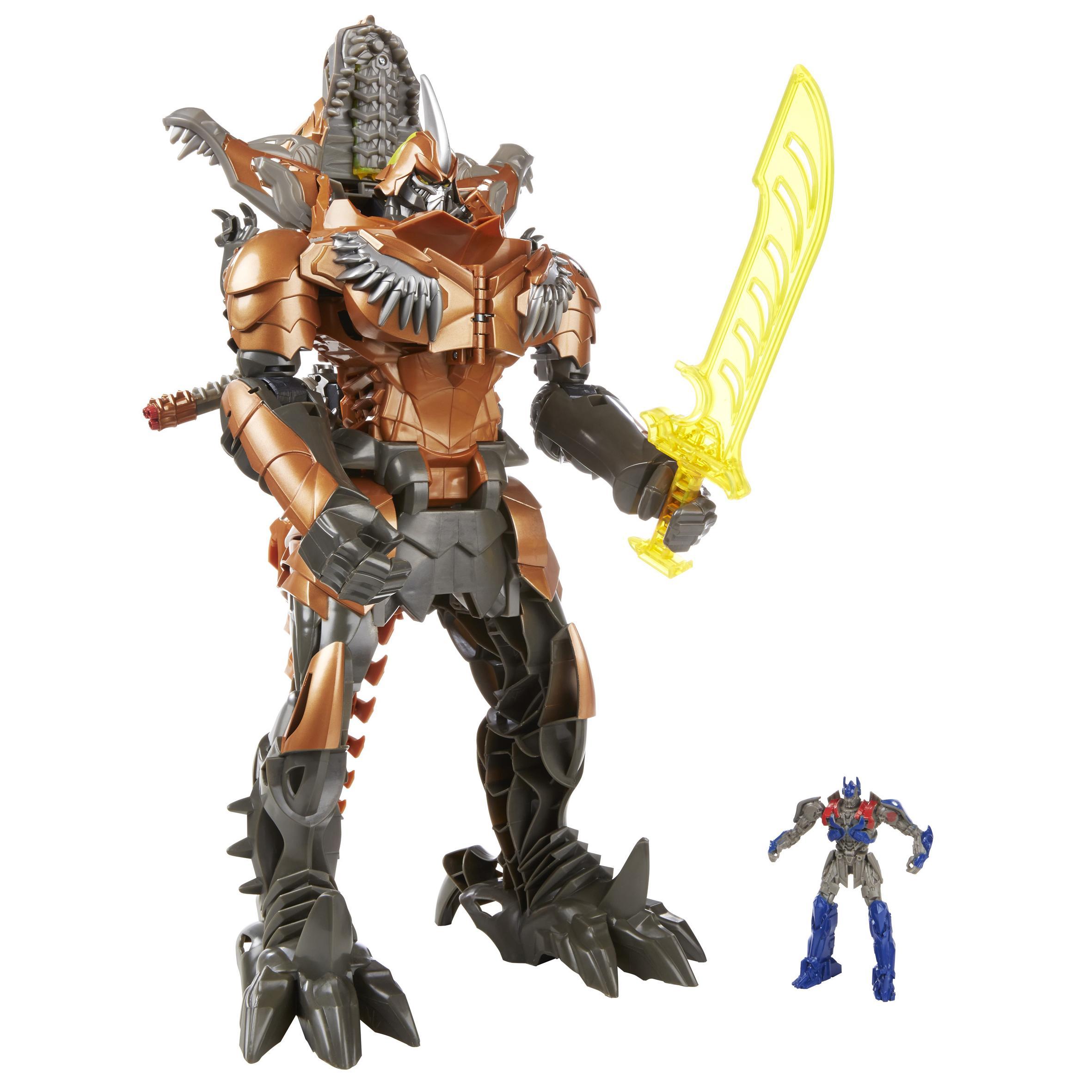 Transformers movie 4 stomp 'n' chomp grimlock