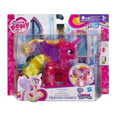 My Little Pony Explore Equestria Sparkle Bright 3-inch Princess Cadance