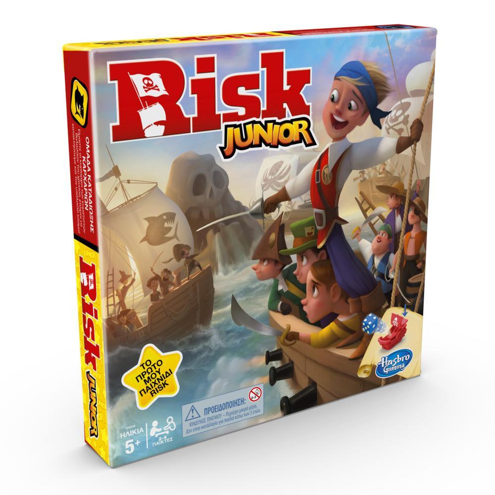 Risk Junior; Εισαγωγή στο κλασσικό επιτραπέζιο παιχνίδι για παιδιά ηλικίας 5 ετών και άνω