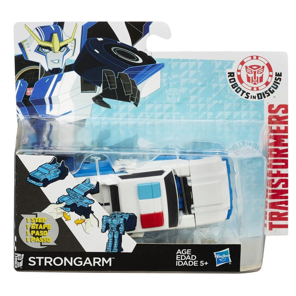 Transformers Robots in Disguise One-Step Warriors Strongarm