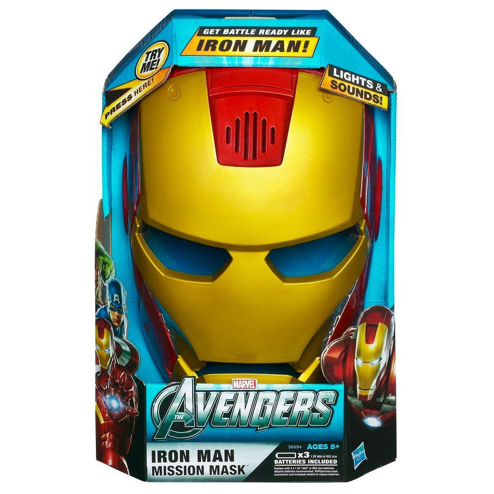 AVENGERS MOVIE ELECTRONIC IRON MAN MASK