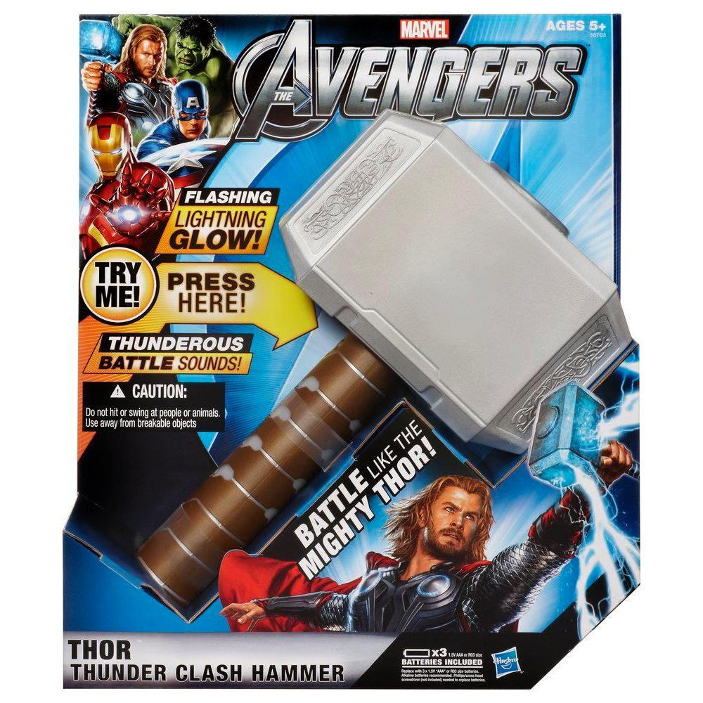 AVENGERS MOVIE ELECTRONIC HAMMER THOR