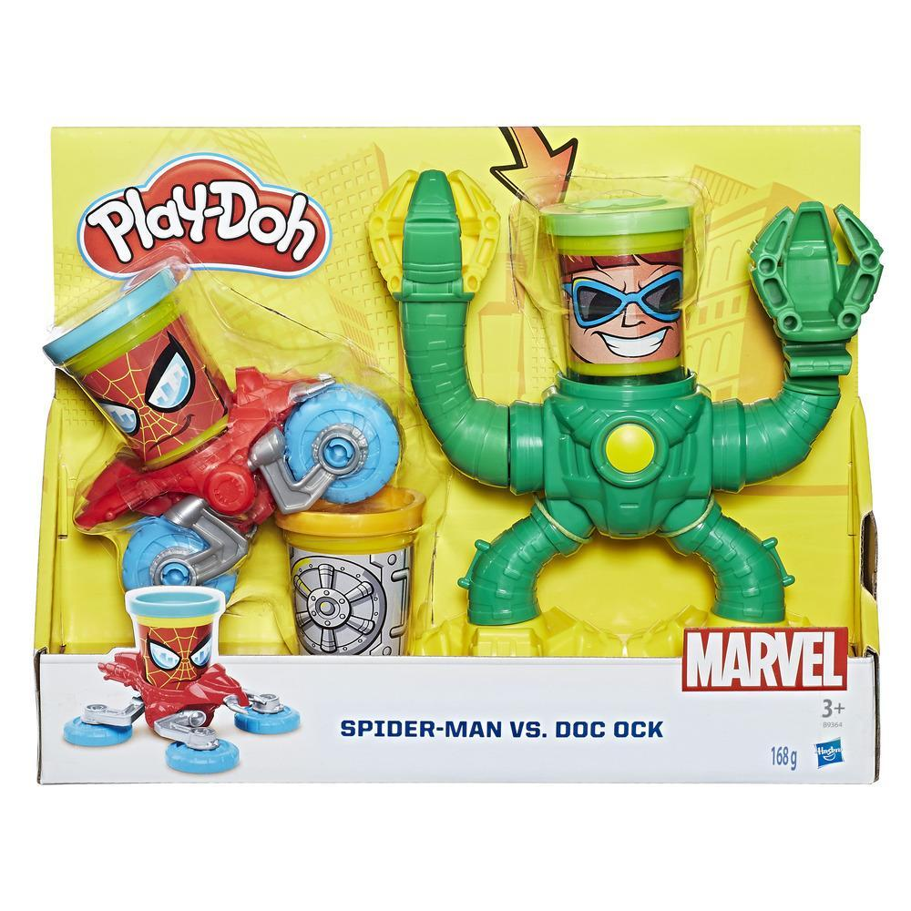 PLAY-DOH MVL SPIDERMAN VS DOC OCK