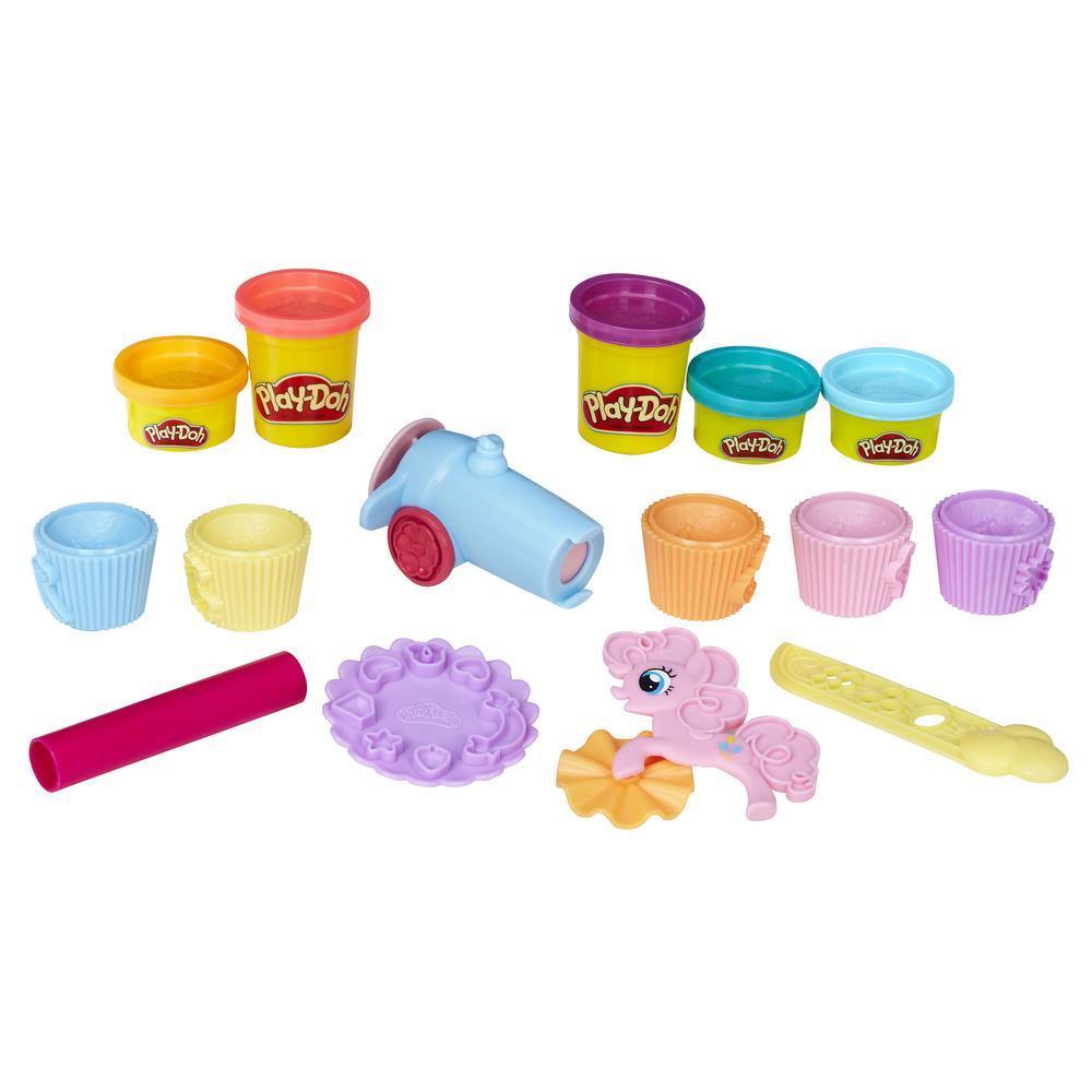 PLAY-DOH PONY PINKIE PIE CUPCAKE PARTY