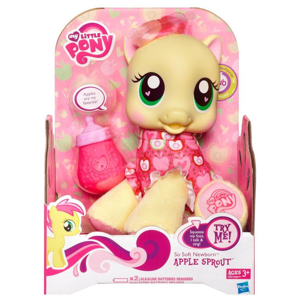 MY LITTLE PONY SO SOFT NEWBORN APPLE SPROUT Figure