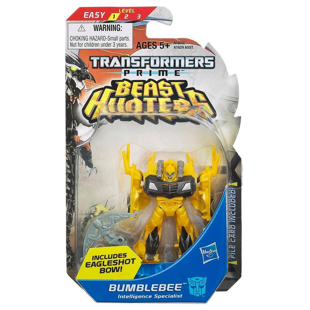 TRANSFORMERS PRIME LEGION BEAST HUNTER FIGURE BUMBLEBEE INTELLIGENCE SPECILIST