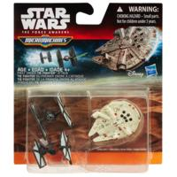 STAR WARS Η Δύναμη Ξυπνάει MICRO MACHINES 3-PACK FIRST ORDER TIE FIGHTER ATTACK
