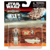 STAR WARS Η Δύναμη Ξυπνάει   MICRO MACHINES 3-PACK SPEEDER CHASE