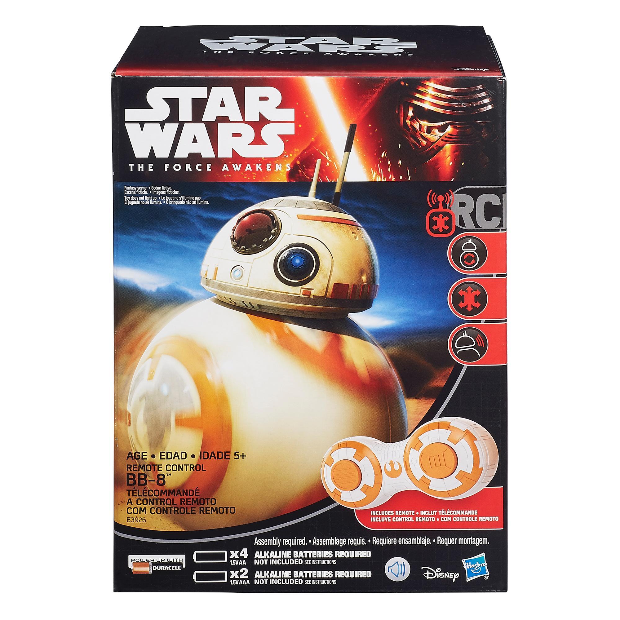 STAR WARS Η Δύναμη Ξυπνά RC BB-8