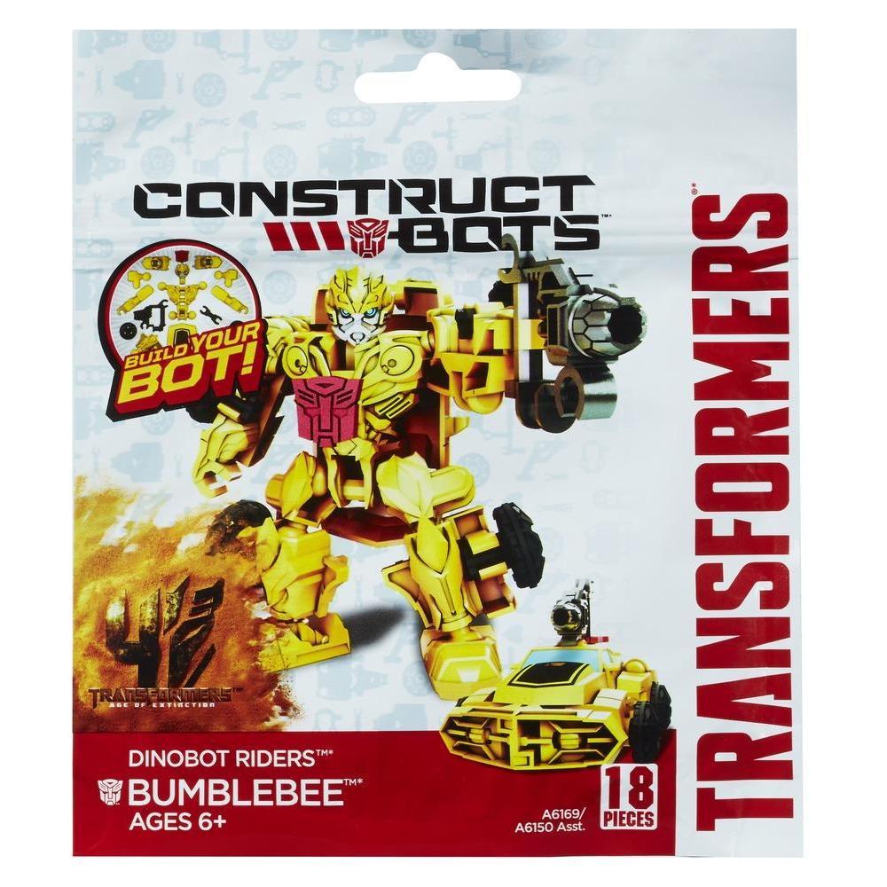 Transformers Age of Extinction Κατασκευάσιμα Ρομπότ Αναβάτες Dinobot Bumblebee Κατασκευάσιμη Φιγούρα Δράσης