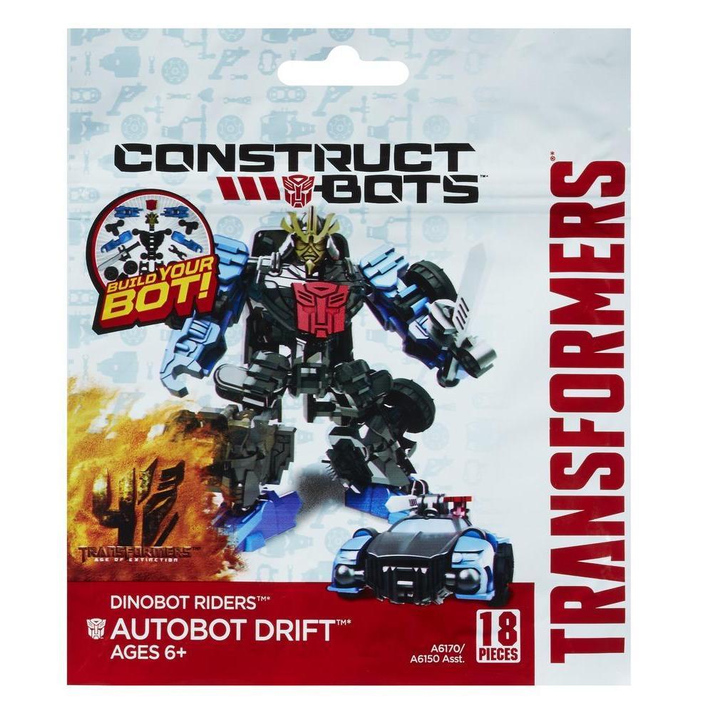 Transformers Age of Extinction Κατασκευάσιμα Ρομπότ Αναβάτες Dinobot Autobot Drift Κατασκευάσιμη Φιγούρα Δράσης
