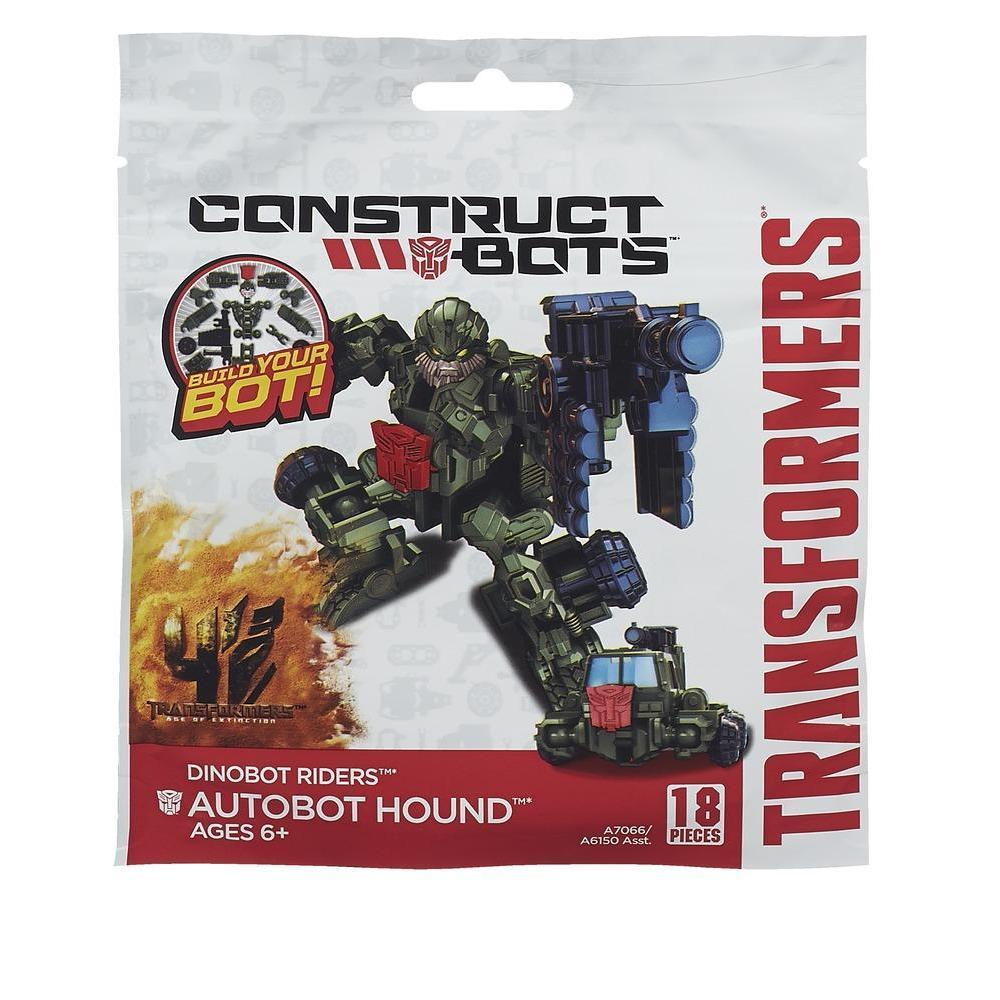 Transformers Age of Extinction Κατασκευάσιμα Ρομπότ Αναβάτες Dinobot Autobot Hound Κατασκευάσιμη Φιγούρα Δράσης