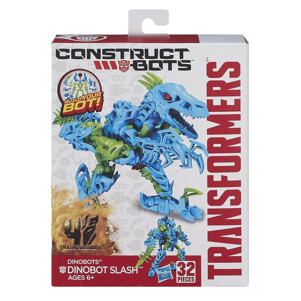 Transformers Age of Extinction Κατασκευάσιμα Ρομπότ Dinobots Dinobot Slash Κατασκευάσιμη Φιγούρα Δράσης