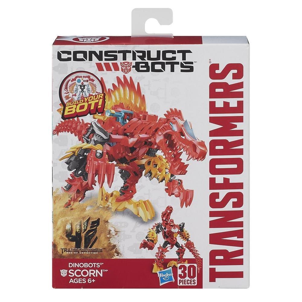 Transformers Age of Extinction Κατασκευάσιμα Ρομπότ Dinobot Scorn Κατασκευάσιμη Φιγούρα Δράσης