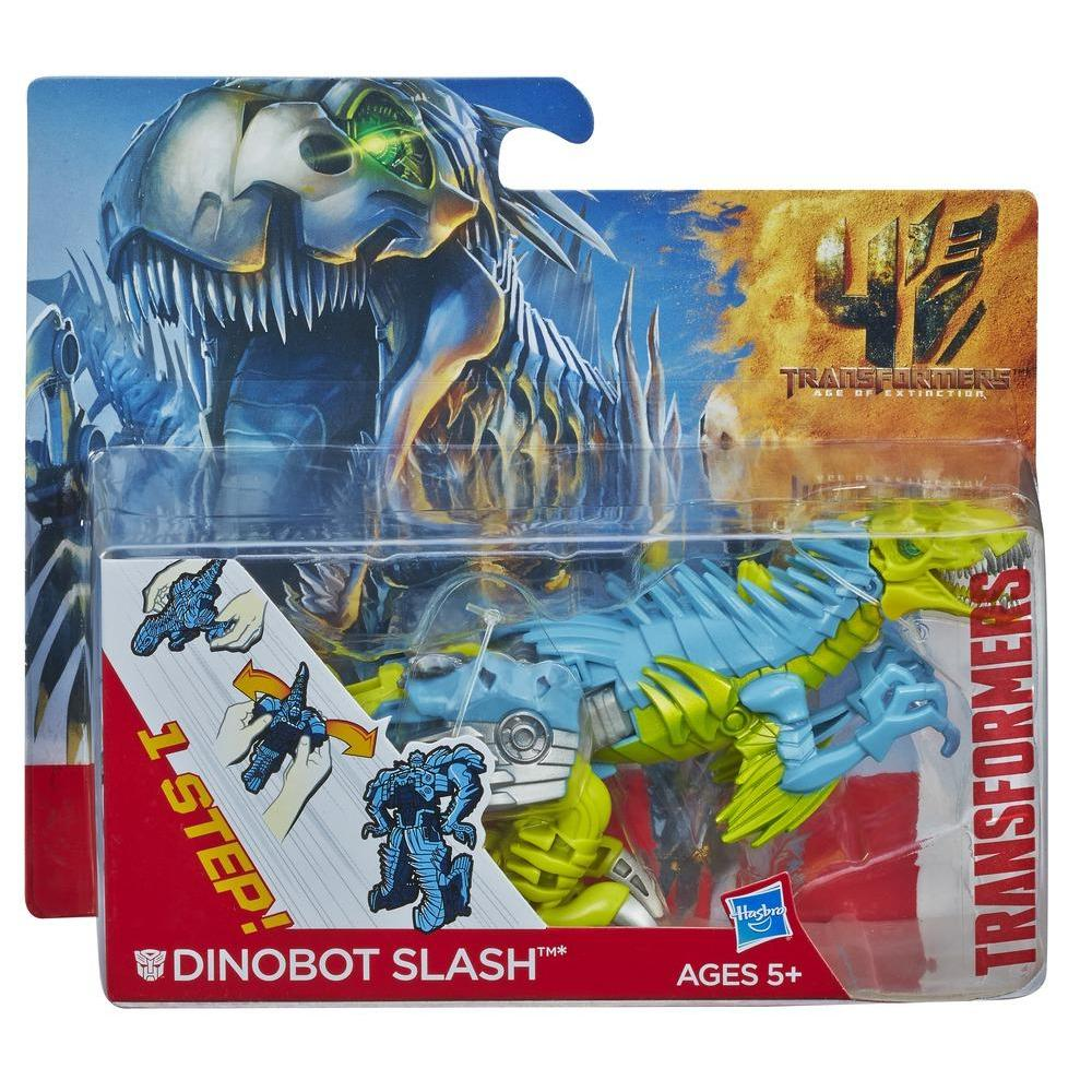 Transformers Age of Extinction Dinobot Slash One-Step Changer