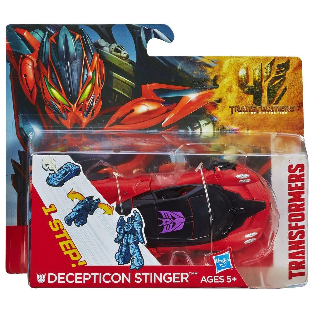 Transformers Age of Extinction Decepticon Stinger One-Step Changer