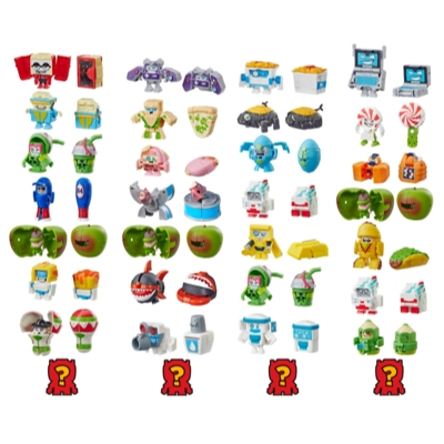 Transformers Toys BotBots Series 2 Spoiled Rottens 8-Pack – Mystery 2-In-1 Collectible Figures! Kids Ages 5 and Up (Styles and Colors May Vary) by Hasbro Product