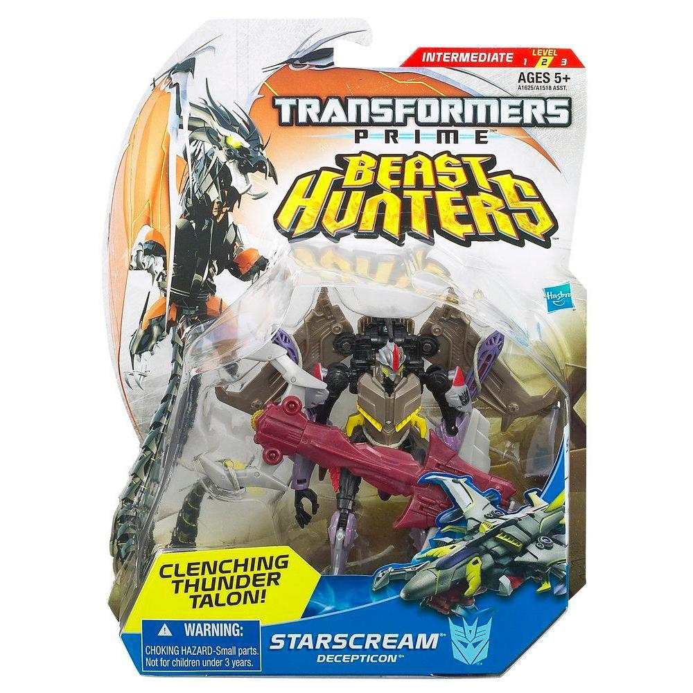 Transformers Beast Hunters Deluxe Class Starscream Figure