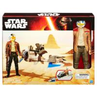 STAR WARS E7 SPEEDER BIKE AND POE DAMERON