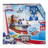 PLAYSKOOL HEROES TRANSFORMERS RESCUE BOTS ΠΛΟΙΟ ΔΙΑΣΩΣΗΣ
