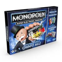 Επιτραπέζιο Παιχνίδι Monopoly Ηλεκτρονική Εξαργύρωση Bonus για παιδιά από 8 ετών και άνω