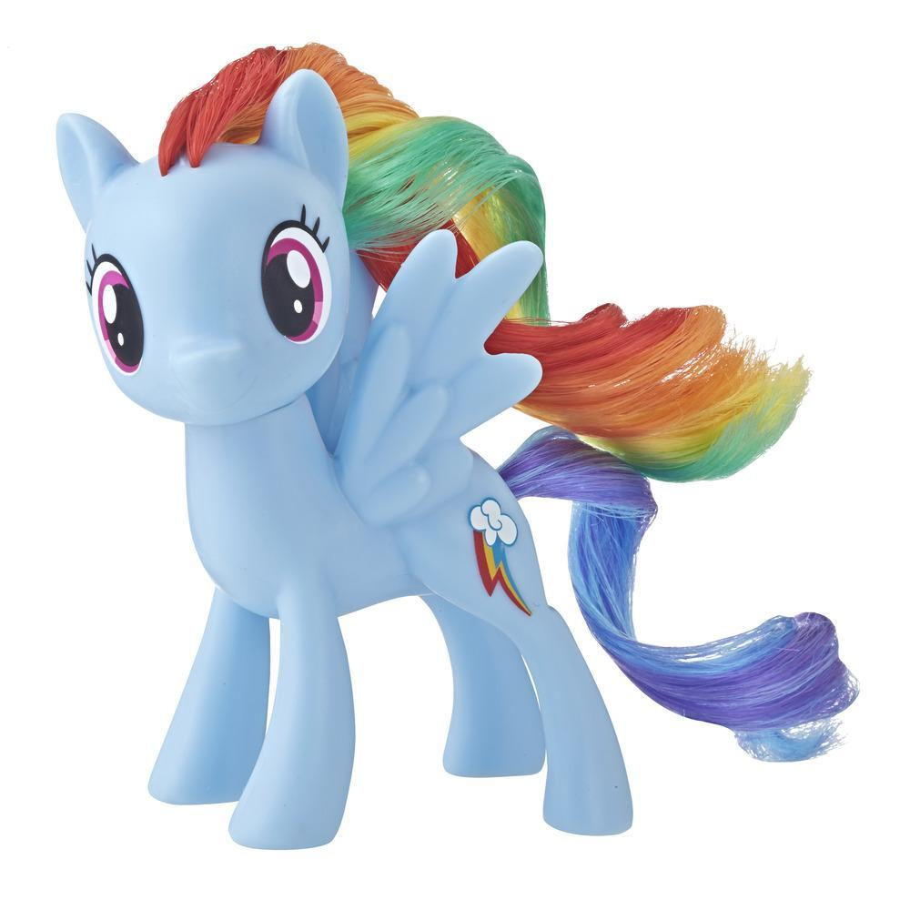 My Little Pony Pony με χαίτη Rainbow Dash Κλασική Φιγούρα